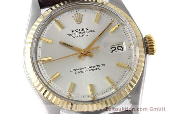montre de luxe d occasion Rolex Datejust acier / or  automatique Kal. 1570 Ref. 1601  | 152681 02