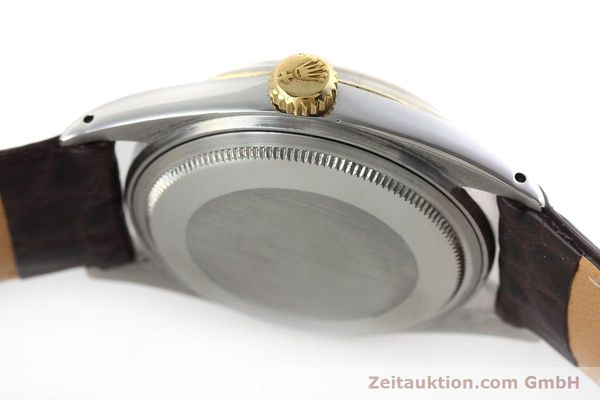 montre de luxe d occasion Rolex Datejust acier / or  automatique Kal. 1570 Ref. 1601  | 152681 11