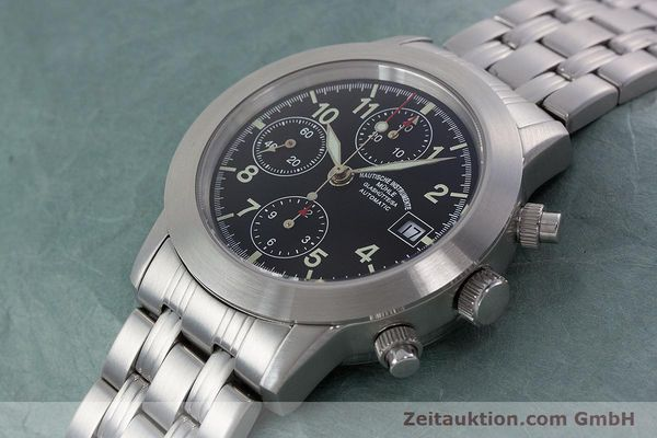 Used luxury watch Mühle Sport Chronograph chronograph steel automatic Kal. ETA 7750 Ref. M1-23-00  | 152685 01