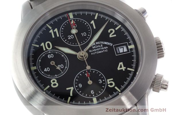 Used luxury watch Mühle Sport Chronograph chronograph steel automatic Kal. ETA 7750 Ref. M1-23-00  | 152685 02