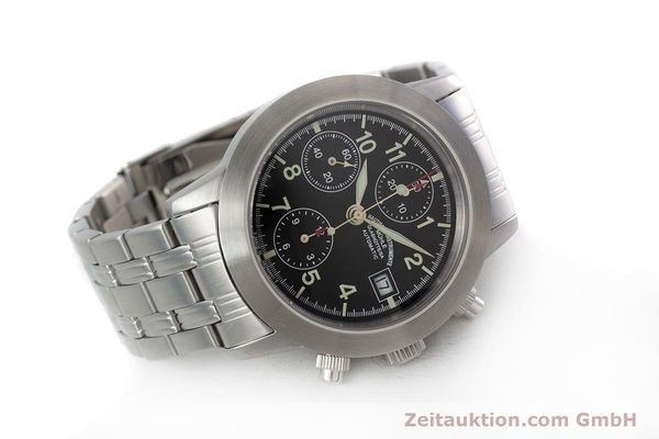 Used luxury watch Mühle Sport Chronograph chronograph steel automatic Kal. ETA 7750 Ref. M1-23-00  | 152685 03