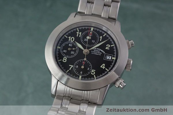 Used luxury watch Mühle Sport Chronograph chronograph steel automatic Kal. ETA 7750 Ref. M1-23-00  | 152685 04