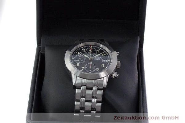 Used luxury watch Mühle Sport Chronograph chronograph steel automatic Kal. ETA 7750 Ref. M1-23-00  | 152685 07
