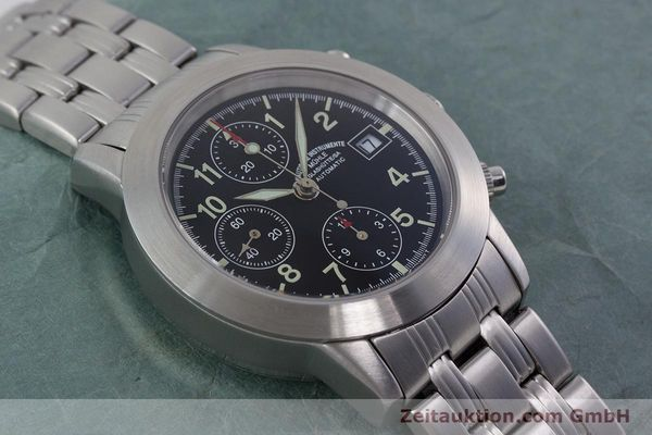 Used luxury watch Mühle Sport Chronograph chronograph steel automatic Kal. ETA 7750 Ref. M1-23-00  | 152685 14