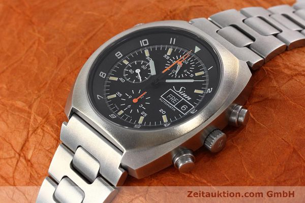 Used luxury watch Sinn D1 Mission chronograph steel automatic Kal. 5100 Ref. 142.1758  | 152689 01