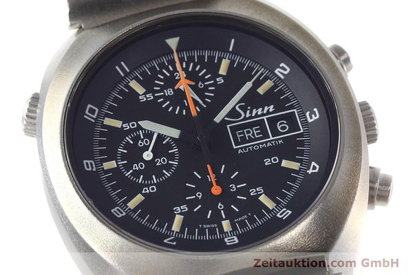 Used luxury watch Sinn D1 Mission chronograph steel automatic Kal. 5100 Ref. 142.1758  | 152689 02