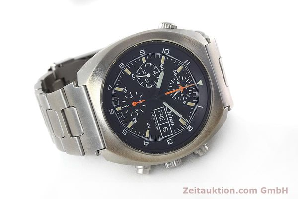 Used luxury watch Sinn D1 Mission chronograph steel automatic Kal. 5100 Ref. 142.1758  | 152689 03