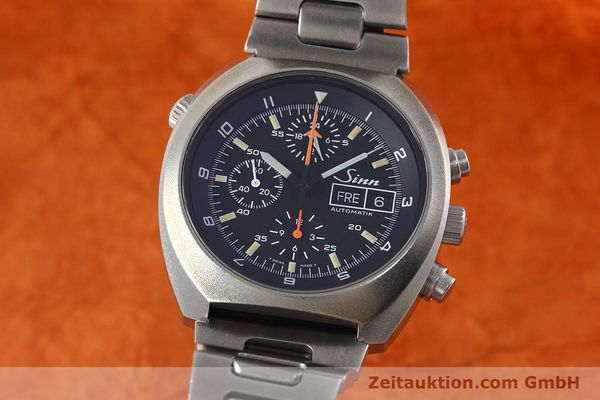 Used luxury watch Sinn D1 Mission chronograph steel automatic Kal. 5100 Ref. 142.1758  | 152689 04