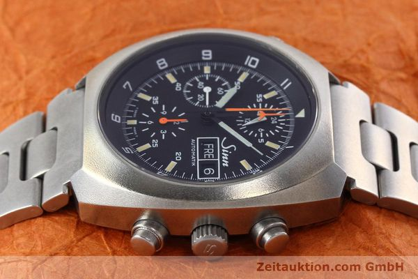 Used luxury watch Sinn D1 Mission chronograph steel automatic Kal. 5100 Ref. 142.1758  | 152689 05