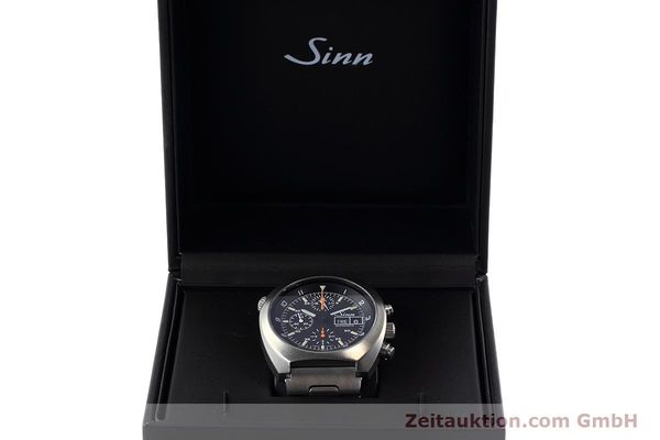 Used luxury watch Sinn D1 Mission chronograph steel automatic Kal. 5100 Ref. 142.1758  | 152689 07