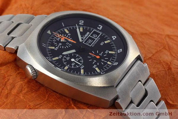 Used luxury watch Sinn D1 Mission chronograph steel automatic Kal. 5100 Ref. 142.1758  | 152689 15