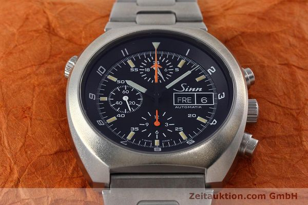 Used luxury watch Sinn D1 Mission chronograph steel automatic Kal. 5100 Ref. 142.1758  | 152689 16