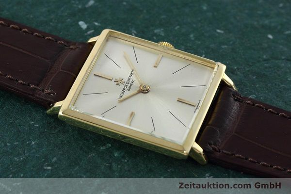 Used luxury watch Vacheron & Constantin * 18 ct gold manual winding Kal. 1001 Ref. 6559 VINTAGE  | 152691 13