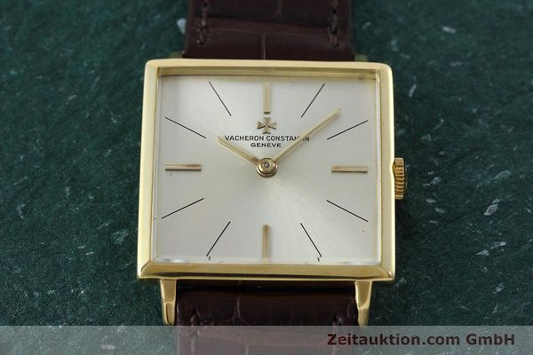 Used luxury watch Vacheron & Constantin * 18 ct gold manual winding Kal. 1001 Ref. 6559 VINTAGE  | 152691 14