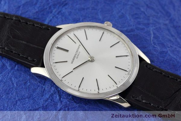 Used luxury watch Vacheron & Constantin * 18 ct white gold manual winding Kal. 1003/1 Ref. 6352  | 152692 13