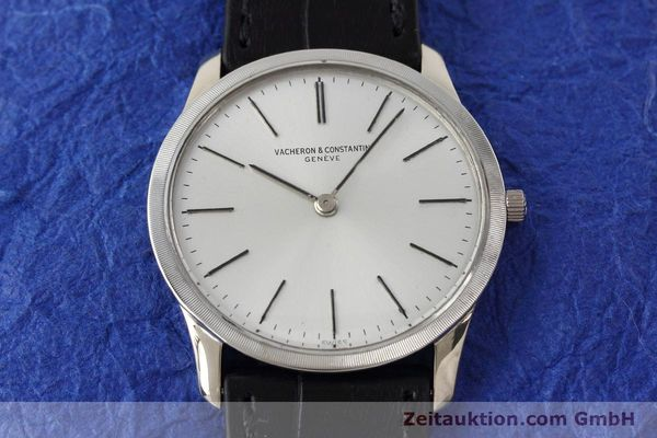 Used luxury watch Vacheron & Constantin * 18 ct white gold manual winding Kal. 1003/1 Ref. 6352  | 152692 14