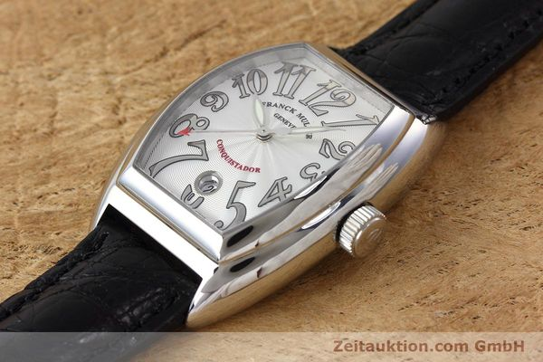 Used luxury watch Franck Muller Conquistador steel automatic Kal. 2800SC Ref. 8005SC  | 152696 01