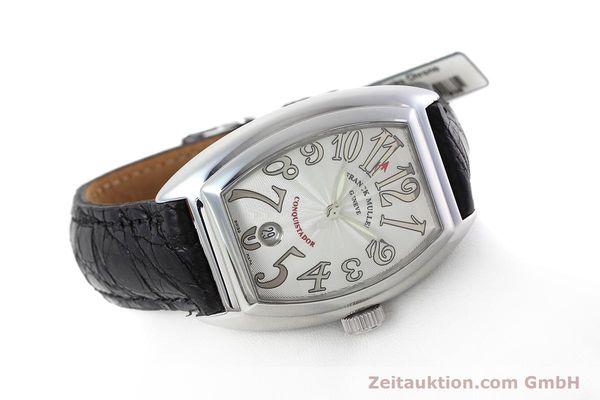 Used luxury watch Franck Muller Conquistador steel automatic Kal. 2800SC Ref. 8005SC  | 152696 03