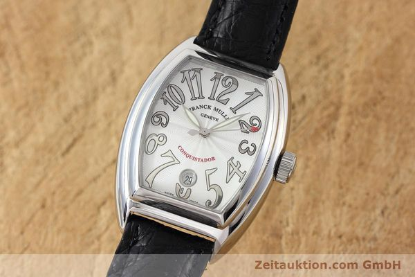 Used luxury watch Franck Muller Conquistador steel automatic Kal. 2800SC Ref. 8005SC  | 152696 04