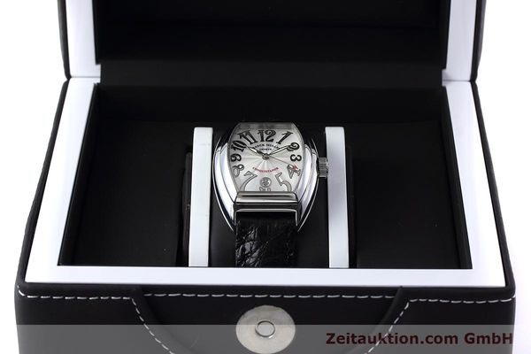 Used luxury watch Franck Muller Conquistador steel automatic Kal. 2800SC Ref. 8005SC  | 152696 07