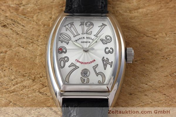 Used luxury watch Franck Muller Conquistador steel automatic Kal. 2800SC Ref. 8005SC  | 152696 13
