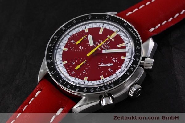 Used luxury watch Omega Speedmaster chronograph steel automatic Kal. 1141 ETA 2890A2  | 152701 01
