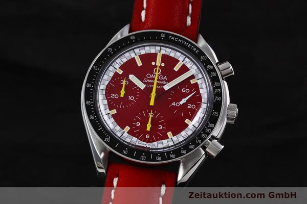 Used luxury watch Omega Speedmaster chronograph steel automatic Kal. 1141 ETA 2890A2  | 152701 04
