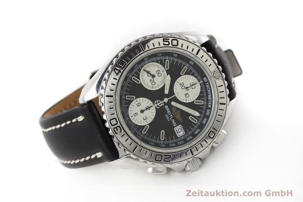 Used luxury watch Breitling Shark chronograph steel automatic Kal. B13 ETA 7750 Ref. A13051  | 152703 03