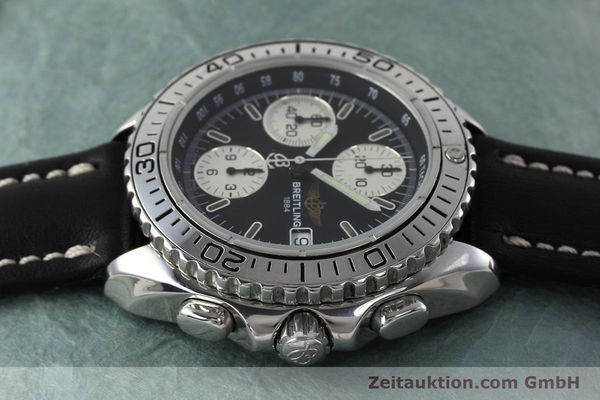 Used luxury watch Breitling Shark chronograph steel automatic Kal. B13 ETA 7750 Ref. A13051  | 152703 05