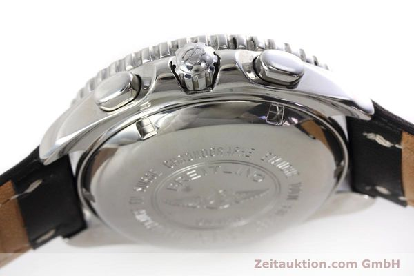 Used luxury watch Breitling Shark chronograph steel automatic Kal. B13 ETA 7750 Ref. A13051  | 152703 08