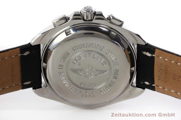 Used luxury watch Breitling Shark chronograph steel automatic Kal. B13 ETA 7750 Ref. A13051  | 152703 09
