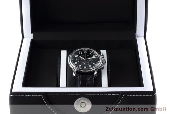 Used luxury watch Blancpain Leman chronograph steel automatic Kal. F185  | 152712 07