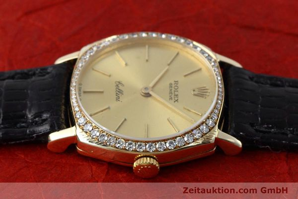 Used luxury watch Rolex Cellini 18 ct gold manual winding Kal. 1600 Ref. 3800  | 152713 05