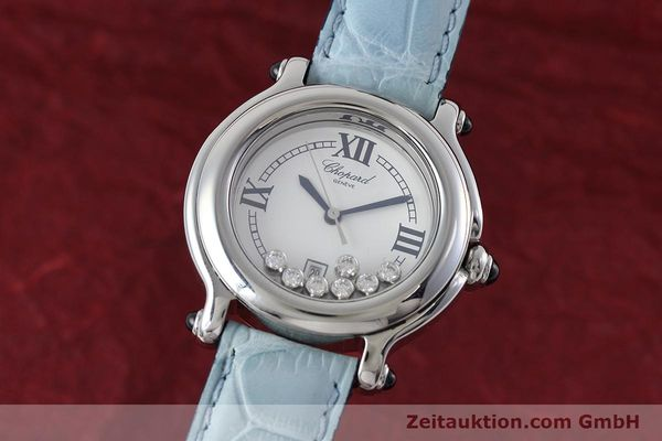 Used luxury watch Chopard Happy Sport steel quartz Kal. ETA 356.112 Ref. 27/8236-23  | 152715 04