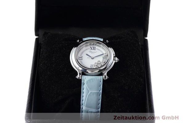 Used luxury watch Chopard Happy Sport steel quartz Kal. ETA 356.112 Ref. 27/8236-23  | 152715 07