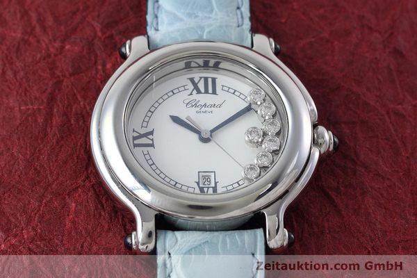 Used luxury watch Chopard Happy Sport steel quartz Kal. ETA 356.112 Ref. 27/8236-23  | 152715 14