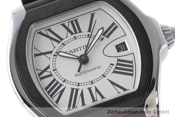 Used luxury watch Cartier Roadster steel automatic Kal. 049 ETA 2892A2 Ref. 3312  | 152716 02