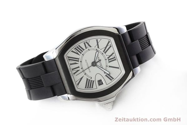 Used luxury watch Cartier Roadster steel automatic Kal. 049 ETA 2892A2 Ref. 3312  | 152716 03