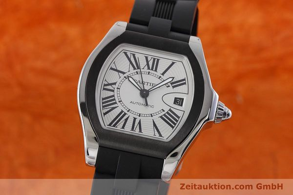 Used luxury watch Cartier Roadster steel automatic Kal. 049 ETA 2892A2 Ref. 3312  | 152716 04