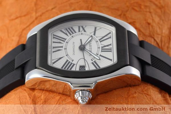 Used luxury watch Cartier Roadster steel automatic Kal. 049 ETA 2892A2 Ref. 3312  | 152716 05