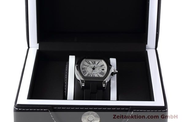 Used luxury watch Cartier Roadster steel automatic Kal. 049 ETA 2892A2 Ref. 3312  | 152716 07