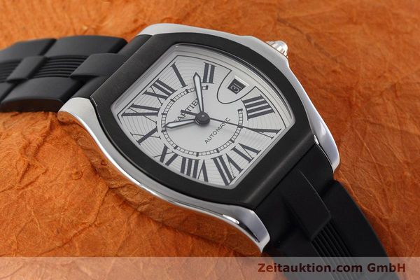Used luxury watch Cartier Roadster steel automatic Kal. 049 ETA 2892A2 Ref. 3312  | 152716 14