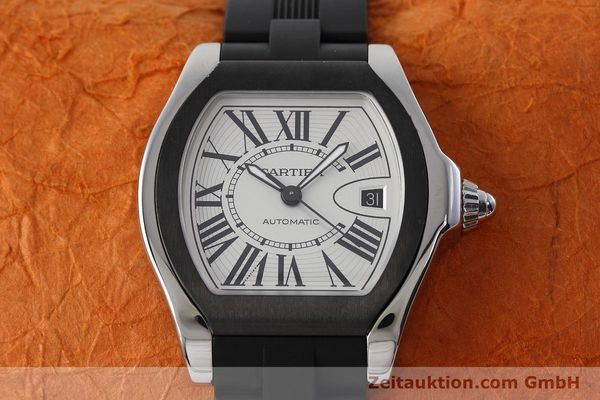 Used luxury watch Cartier Roadster steel automatic Kal. 049 ETA 2892A2 Ref. 3312  | 152716 15
