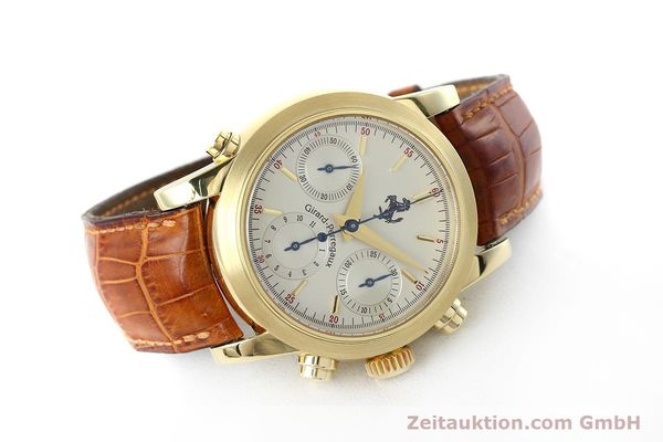 Used luxury watch Girard Perregaux Ferrari chronograph 18 ct gold automatic Kal. 8290 Ref. 9015 LIMITED EDITION | 152720 03
