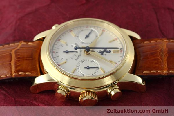 Used luxury watch Girard Perregaux Ferrari chronograph 18 ct gold automatic Kal. 8290 Ref. 9015 LIMITED EDITION | 152720 05