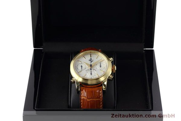 Used luxury watch Girard Perregaux Ferrari chronograph 18 ct gold automatic Kal. 8290 Ref. 9015 LIMITED EDITION | 152720 07