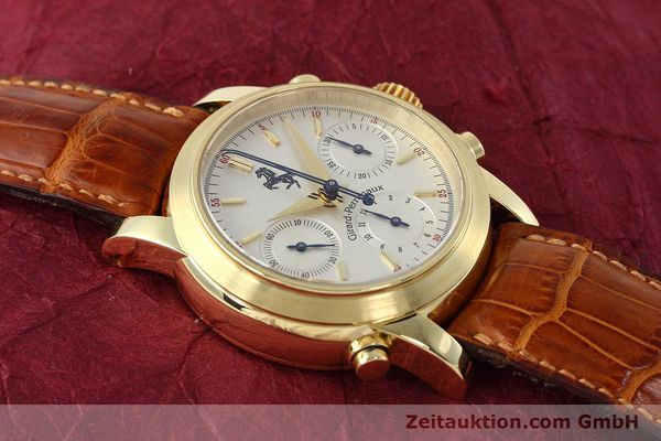 Used luxury watch Girard Perregaux Ferrari chronograph 18 ct gold automatic Kal. 8290 Ref. 9015 LIMITED EDITION | 152720 16
