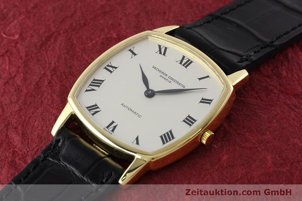 Used luxury watch Vacheron & Constantin * 18 ct gold automatic Kal. 1120 Ref. 7390  | 152721 01