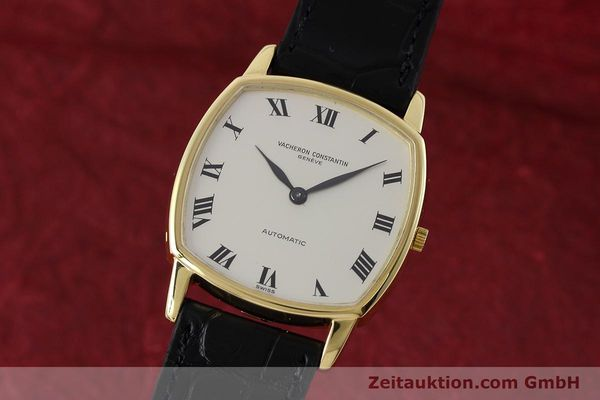 Used luxury watch Vacheron & Constantin * 18 ct gold automatic Kal. 1120 Ref. 7390  | 152721 04