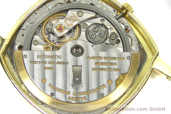 Used luxury watch Vacheron & Constantin * 18 ct gold automatic Kal. 1120 Ref. 7390  | 152721 10